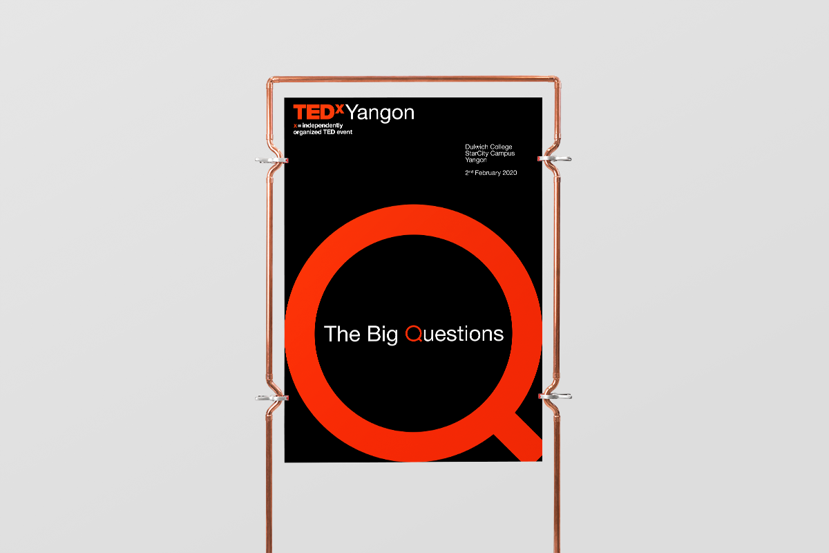 """TEDxYangon 2020 """"The Big Questions"""""""
