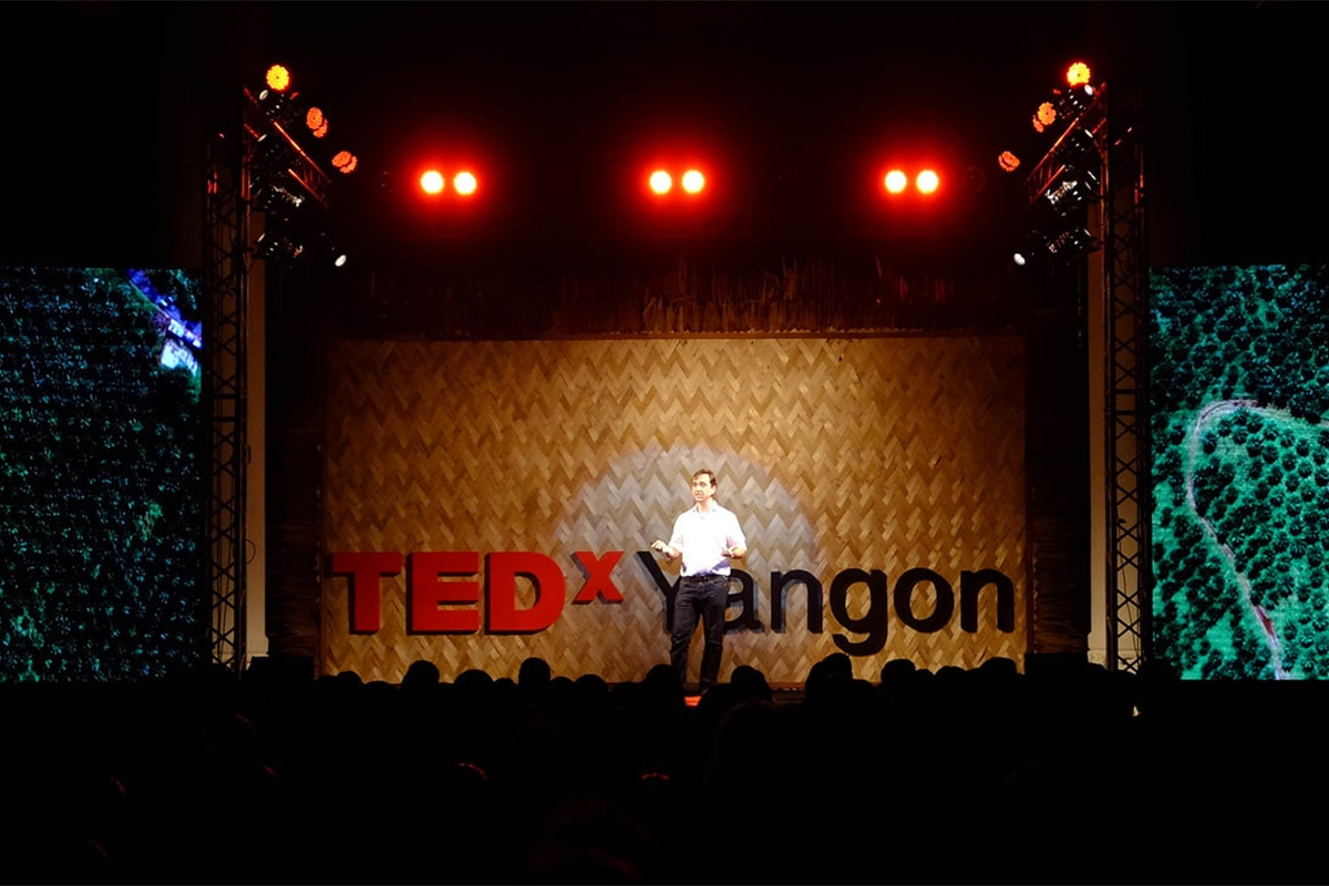 tedx at yangon