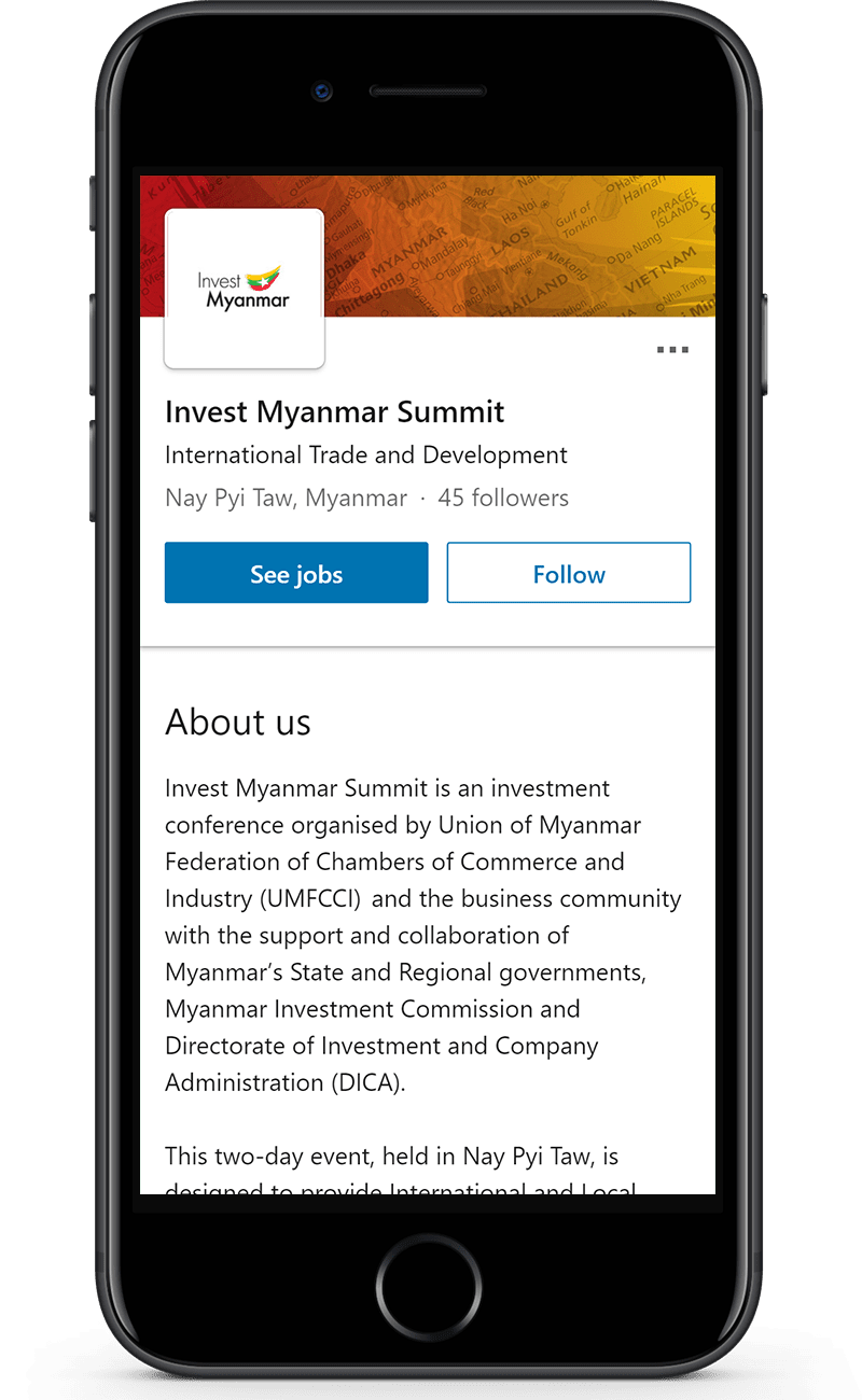 invest myanmar summit
