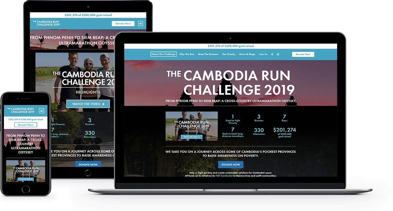 The Cambodia Run example