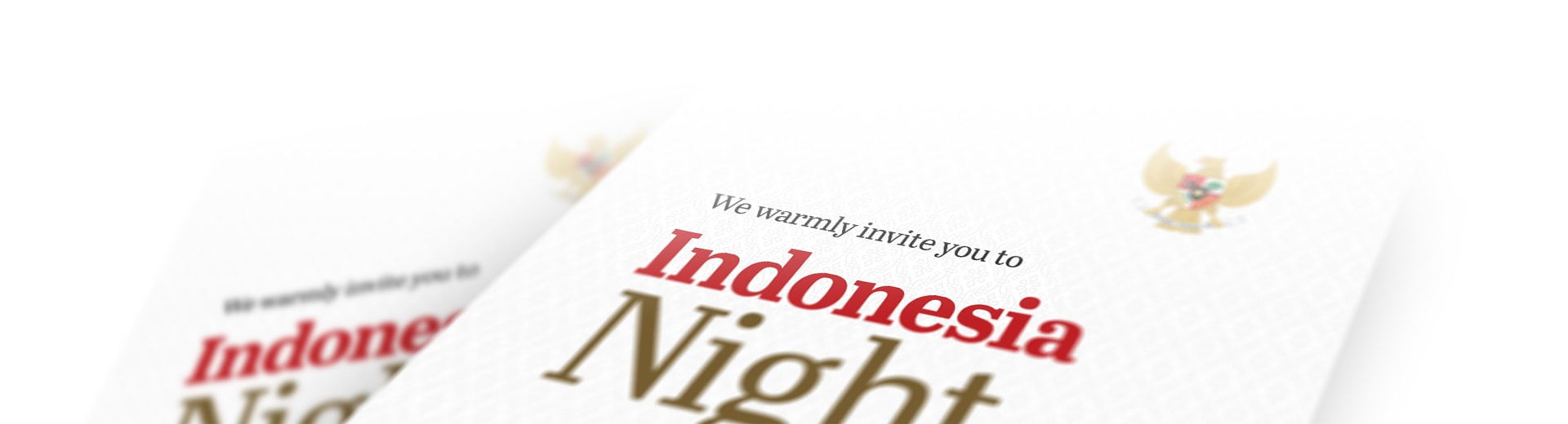 indonesia night brochure