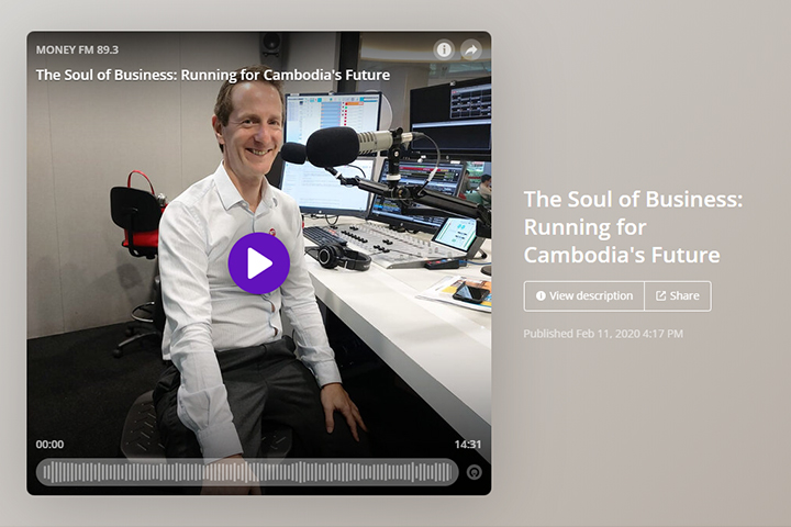 The Soul of Business: Running for Cambodia's Future